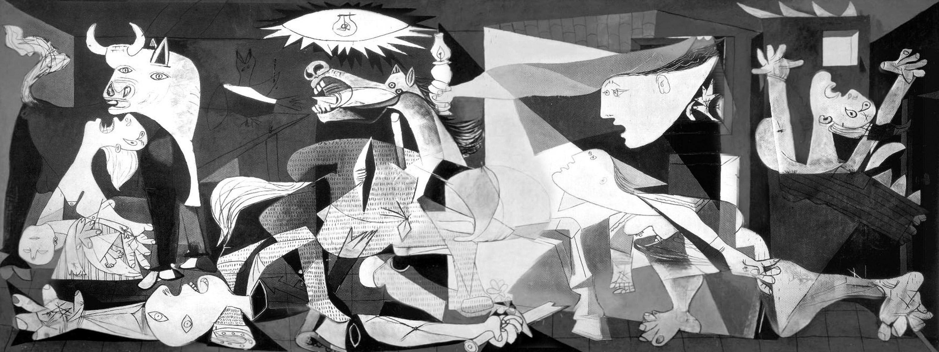 La guerre dans l'art Guernica